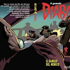 Cómics: IL GRANDE DIABOLIK - IL SANGUE DEL NEMICO 2-2018 - ASTORINA. Lote 277725863