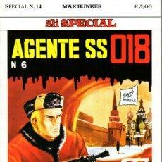 Cómics: MAGNUS & BUNKER - DENNIS COBB AGENTE SS 018 - SPECIAL N.14 - MAX BUNKER PRESS. Lote 277725888