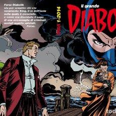 Cómics: IL GRANDE DIABOLIK - LA VERA STORIA DELL'ISOLA DI KING 1-2014 - ASTORINA. Lote 277725903
