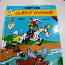 Cómics: CÓMIC EN FRANCÉS - LUCKY LUKE - LA BELLE PROVINCE. Lote 277843508