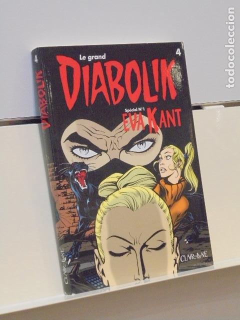 LE GRAND DIABOLIK Nº 4 SPÉCIAL Nº 1 EVA KANT - CLAIR DE LUNE EN FRANCÉS (Tebeos y Comics - Comics Lengua Extranjera - Comics Europeos)