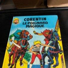 Cómics: CORENTIN T4: LE POIGNARD MAGIQUE DE PAUL CUVELIER Y GREG. EN FRANCÉS. Lote 278525383