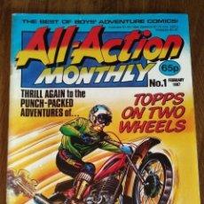 Cómics: ALL-ACTION MONTHLY Nº 1. COMIC ORIGINAL UK. 1987. Lote 280419508