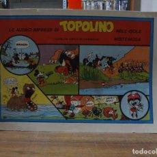 Cómics: COLECCION TOPOLINO WALT DISNEY - ALBI IL FUMETTO - ANAF - 1982. Lote 280889978