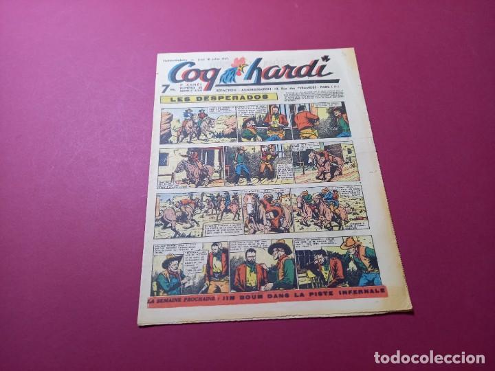 COQ HARDI. N° 68 -ANNÉE 1947-PARIS (Tebeos y Comics - Comics Lengua Extranjera - Comics Europeos)