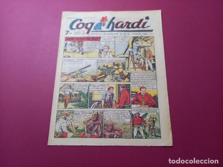 COQ HARDI. N° 72 -ANNÉE 1947-PARIS (Tebeos y Comics - Comics Lengua Extranjera - Comics Europeos)