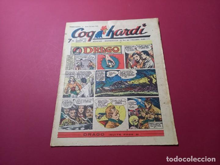 COQ HARDI. N° 74 -ANNÉE 1947-PARIS (Tebeos y Comics - Comics Lengua Extranjera - Comics Europeos)