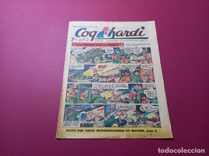 COQ HARDI. N° 75 -ANNÉE 1947-PARIS (Tebeos y Comics - Comics Lengua Extranjera - Comics Europeos)