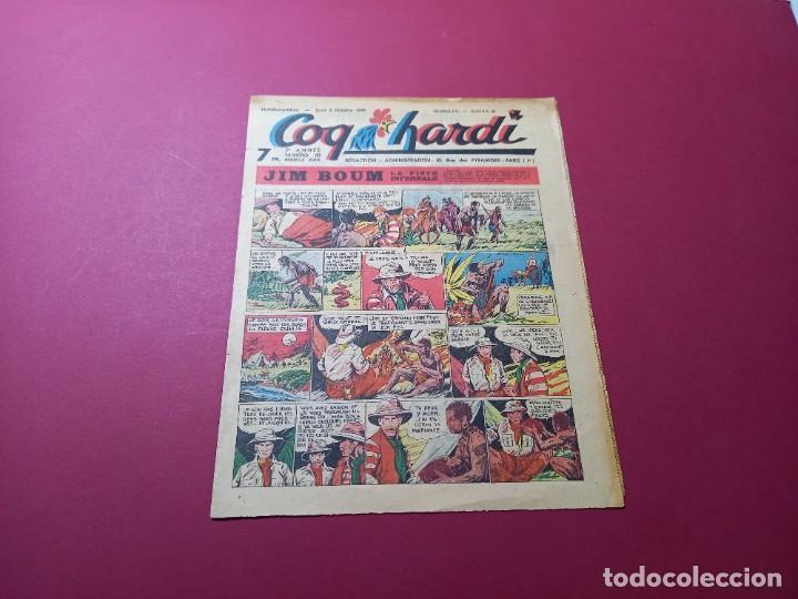 COQ HARDI. N°80 -ANNÉE 1947-PARIS (Tebeos y Comics - Comics Lengua Extranjera - Comics Europeos)