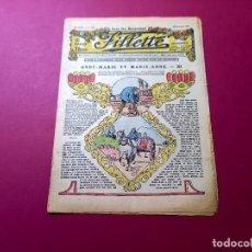 Cómics: FILLETTE . N°871 -ANNÉE 1924 NOVEMBRE-PARIS. Lote 281970943