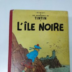 Comics : TINTIN L'ÎLE NOIRE B29 1960 FRANCÉS. Lote 285157603