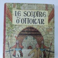 Cómics: TINTIN LE SCEPTRE D'OTTOKAR B1 1947 FRANCÉS CASTERMAN. Lote 285171643