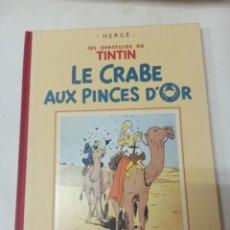 Cómics: TINTIN: LE CRABE AUX PINCES D'OR. CASTERMAN 1989. FACSÍMIL DE LA EDICIÓN ORIGINAL, EN BLANCO Y NEGRO. Lote 285275933
