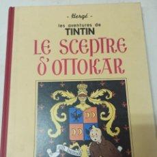 Cómics: TINTIN: LE ACEPTE D'OTTOKAR. CASTERMAN 1988. FACSÍMIL DE LA EDICIÓN ORIGINAL, EN BLANCO Y NEGRO. Lote 285276983