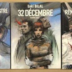 Cómics: ENKI BILAL. PREMIER DEUXIEME TROISIEME ACTE. CASTERMAN 2006. EN FRANCÉS. LOTE 3 NOVELAS GRÁFICAS.. Lote 285488158