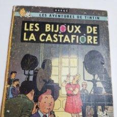 Cómics: TINTIN LES BIJOUX DE LA CASTAFIORE B34 1963 FRANCÉS CASTERMAN. Lote 286198958