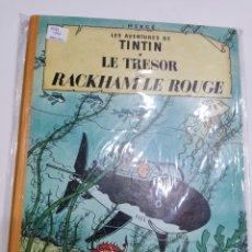 Comics : TINTIN LE TRÉSOR DE RACKHAM LE ROUGE B33 1963 FRANCÉS. Lote 286199768