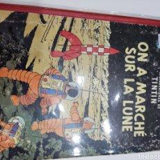 Comics : TINTIN ON A MARCHÉ SUR LA LUNE B35 1964. Lote 286200993
