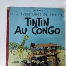 Cómics: TINTIN AU CONGO B7 1952 FRANCÉS CASTERMAN. Lote 287022608