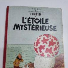Cómics: TINTIN L'ÉTOILE MYSTÉRIEUSE B26 FRANCÉS 1955 CASTERMAN. Lote 287046653