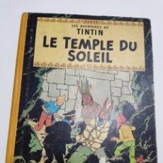 Cómics: TINTIN LE TEMPLE DU SOLEIL B35 FRANCÉS 1964 CASTERMAN. Lote 287152623