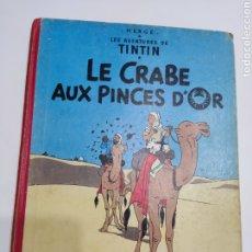 Cómics: TINTIN LE CRABE AUX PINCES D'OR B33 FRANCÉS 1963 CASTERMAN. Lote 287173983