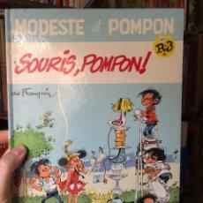 Cómics: SOURIS, POMPOM! MODESTE ET. FRANQUIN. HIMALAYA. Lote 287970718