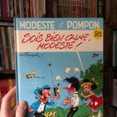 Cómics: SOIS BIEN CALME, MODESTE! ET POMPOM - FRANQUIN - HIMALAYA. Lote 287970778