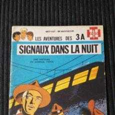 Cómics: LES AVENTURES DES 3A. SIGNAUX DANS LA NUIT. 1970. BRUSELAS. EN FRANCES. SCOUTS. Lote 288070943