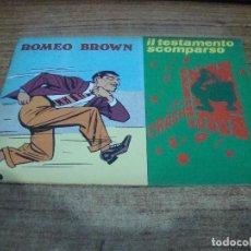 Cómics: ROMEO BROWN Nº 5. Lote 288231588