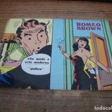 Cómics: ROMEO BROWN Nº 1. Lote 288231688