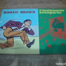 Cómics: ROMEO BROWN Nº 5. Lote 288231713