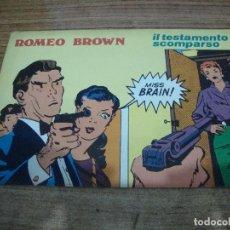 Cómics: ROMEO BROWN Nº 4. Lote 288231738
