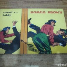 Cómics: ROMEO BROWN Nº 3. Lote 288231753