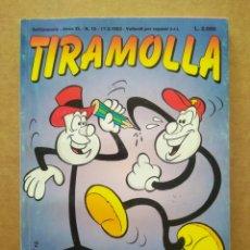 Cómics: TIRAMOLLA N°10 (VALLARDI PER RAGAZZI, 1992). EN ITALIANO. VER ÍNDICE EN FOTO ADICIONAL.. Lote 289293983