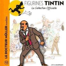 Cómics: LA COLLECTION OFFICIELLE TINTIN LIBRO 12 EL DOCTOR MÜLLER PIRÓMANO EN FRANCÉS EDITIONS MOULINSART. Lote 289514663