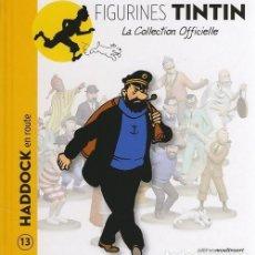Cómics: LA COLLECTION OFFICIELLE TINTIN TOMO 13 HADDOCK EN MARCHA EN FRANCÉS EDITIONS MOULINSART. Lote 289514753