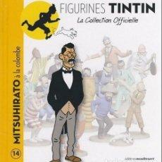 Cómics: LA COLLECTION OFFICIELLE TINTIN TOMO 14 MITSUHIRATO Y LA PALOMA EN FRANCÉS EDITIONS MOULINSART. Lote 289514843