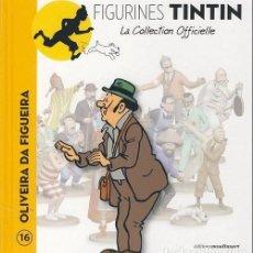 Cómics: LA COLLECTION OFFICIELLE TINTIN TOM 16 EL SEÑOR OLIVEIRA DA FIGUEIRA EN FRANCÉS EDITIONS MOULINSART. Lote 289515083
