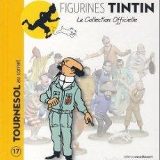 Cómics: LA COLLECTION OFFICIELLE TINTIN TOMO 17 TORNASOL CON TROMPETILLA EN FRANCÉS EDITIONS MOULINSART. Lote 289515308