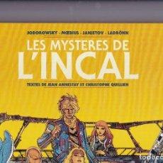 Cómics: LES MYSTÈRES DE L'INCAL - ED. 2016 - ANNESTAY/QUILIEN. Lote 289592948