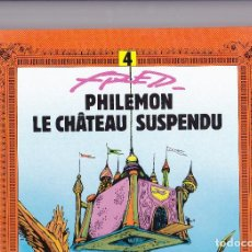 Cómics: PHILEMON (DARGAUD) - 4 - LE CHÂTEAU SUSPENDU - ED. 1993 (GRAND FORMAT) - FRED. Lote 289593883