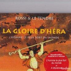 Cómics: LA GLOIRE D'HERA (CASTERMAN) - LOTE TOMOS 1 Y 2 - SERIE COMPLETA - ED. 2002 - LE TENDRE/ROSSI. Lote 289597058