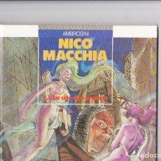 Cómics: NICO MACCHIA (GLENAT) - LOTE TOMOS 1 Y 2 - SERIE COMPLETA - AMBROSINI. Lote 289598098