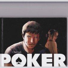 Cómics: POKER - LOTE TOMOS 1, 2, 3, 4 - SERIE COMPLETA - DERRIEN / VAN LIEMT. Lote 289600043