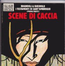 Cómics: SCENE DI CACCIA (REBECCA) ALBI DI ORIENT EXPRESS SPECIALE - BRANDOLI/QUEIROLO. Lote 289603508