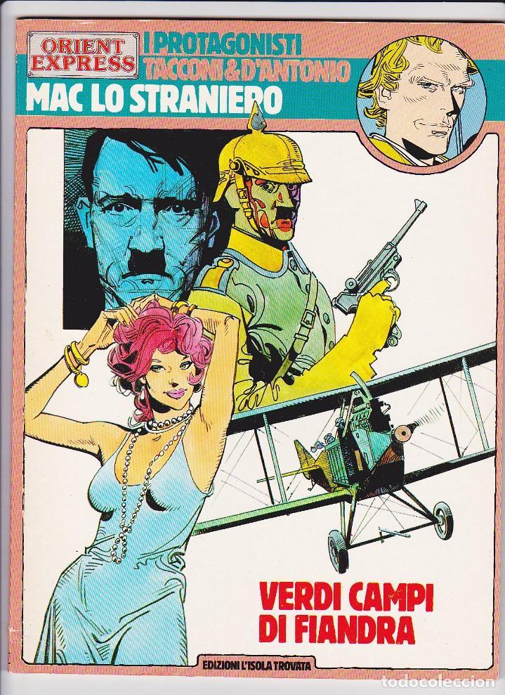 MAC LO STRANIERO - VERDI CAMPI DI FIANDRA (PROTAGONISTI DI ORIENT EXPRESS 13) - TACCONI (Tebeos y Comics - Comics Lengua Extranjera - Comics Europeos)