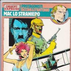 Cómics: MAC LO STRANIERO - VERDI CAMPI DI FIANDRA (PROTAGONISTI DI ORIENT EXPRESS 13) - TACCONI. Lote 289603978