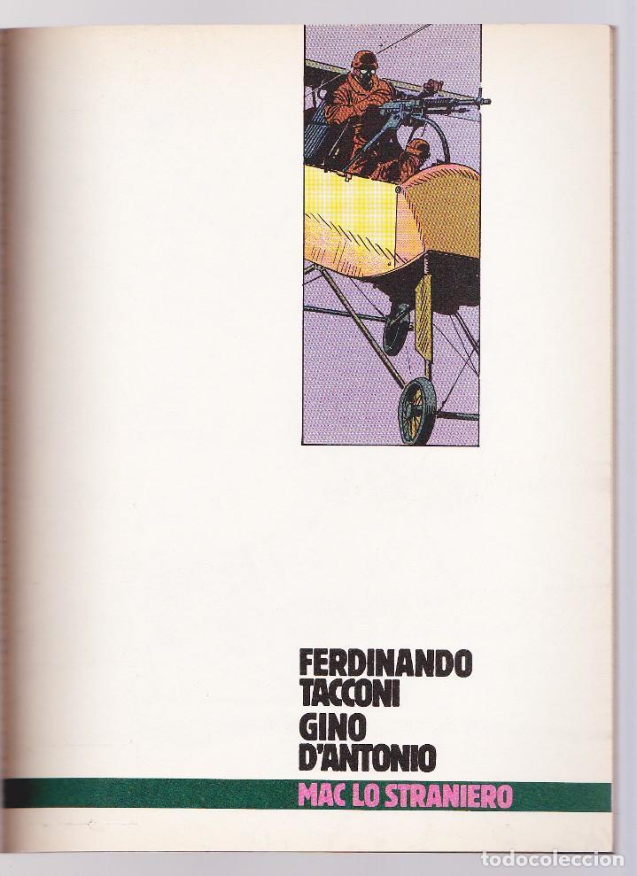 Cómics: Mac lo Straniero - Verdi Campi di Fiandra (Protagonisti di Orient Express 13) - Tacconi - Foto 2 - 289603978