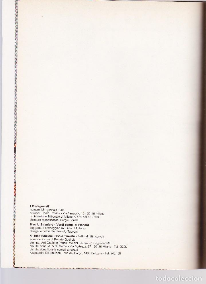Cómics: Mac lo Straniero - Verdi Campi di Fiandra (Protagonisti di Orient Express 13) - Tacconi - Foto 3 - 289603978